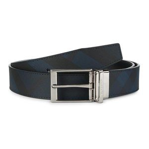 Burberry Louis Leather Buckle Belt  Retail: $420